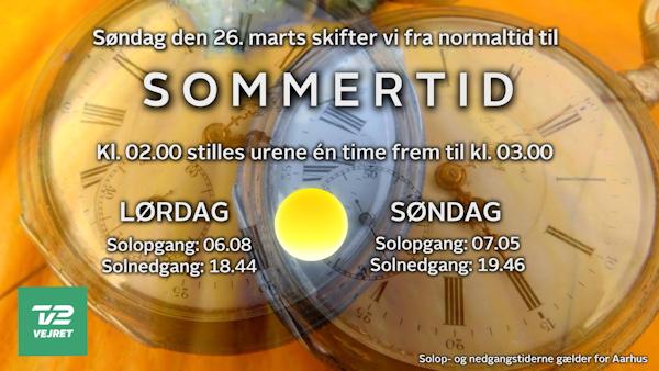 TV2 Vejret Sommertid